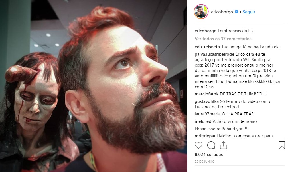 Digital Influencer - Erico Borgo do Omelete