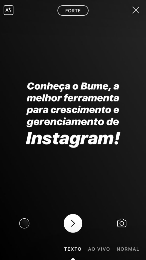 instagram updates 2018 -texto nos stories
